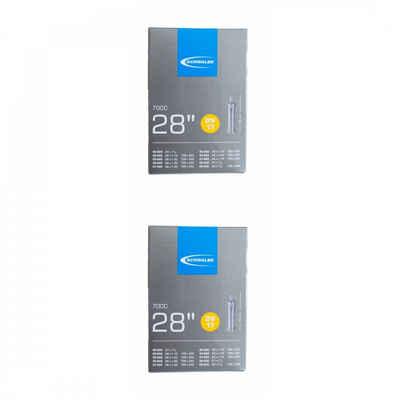 Schwalbe Fahrradschlauch »2 x Schwalbe Schlauch DV17 (28/47-622/635) 28x1.10«, {Besondere Merkmale