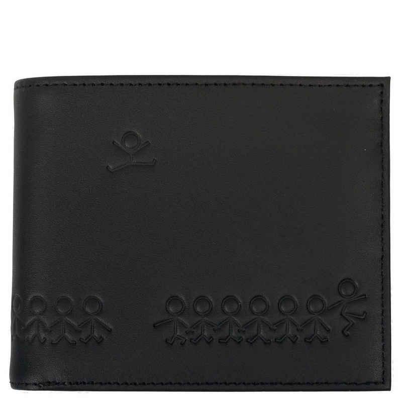 OXMOX Geldbörse »Leather Geldbörse 12 cm«