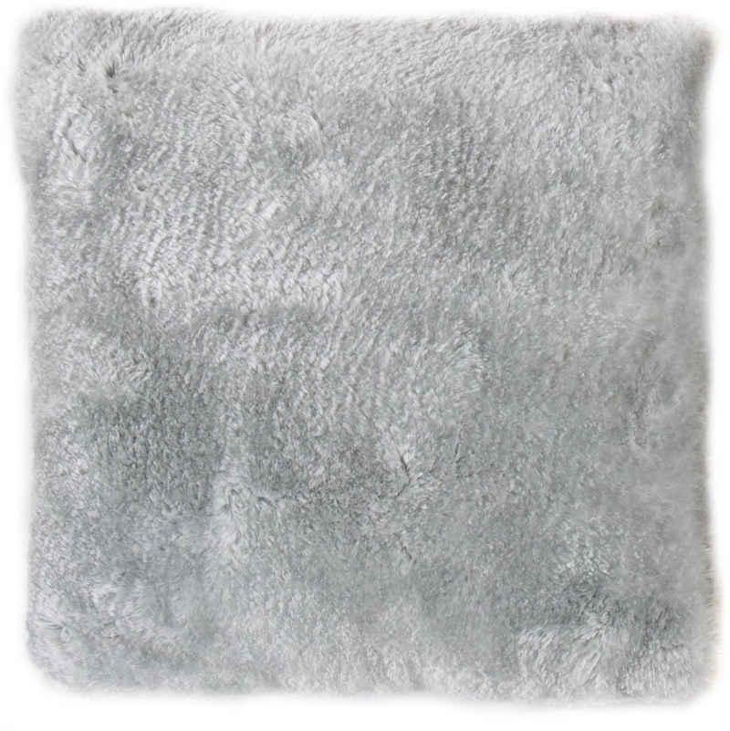 Andiamo Fellkissen »Lamm Fellimitat«, Dekokissen, Zierkissen, eckig, 40x40 cm, Kunstfell, inkl. Kissenfüllung, besonders weich durch Microfaser, Wohnzimmer