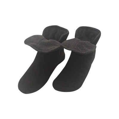 RAIKOU »Hausstiefel Hüttenschuche Stoppersocken für Damen Herren und Kinder« Hausschuh (aus Miro Fleece Super Flauschige) mit ABS und Rutschfester Sohle