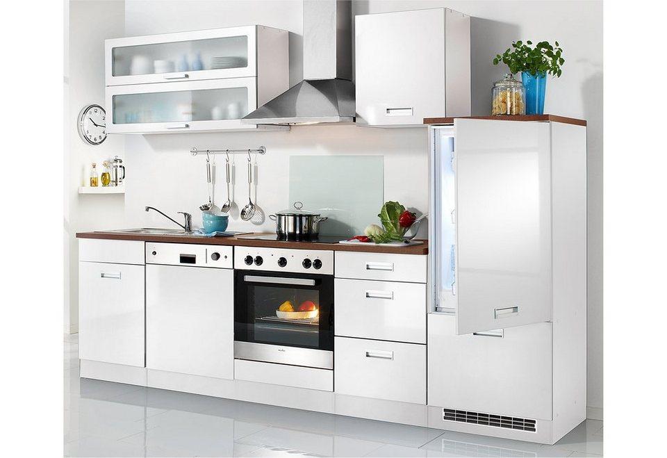HELD MÖBEL Küchenzeile ohne E-Geräte »Fulda, Breite 280 cm« online kaufen |  OTTO