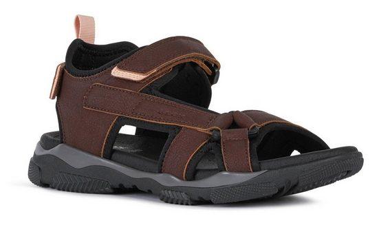 Geox »D ABYES« Sandale mit Klettverschlüssen