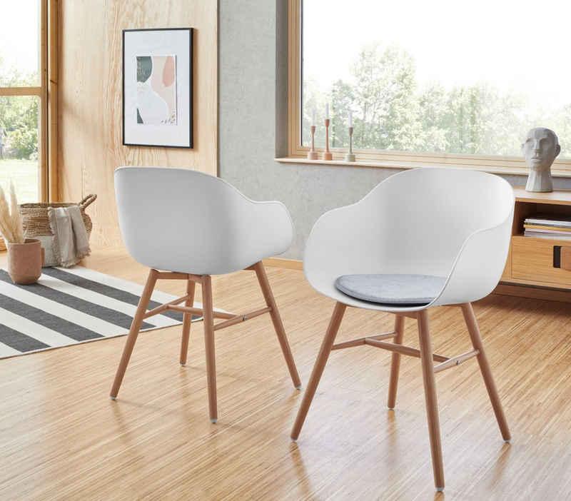 Duo Collection Stuhl »Lara« (Set, 2 Stück), mit Sitzpolster