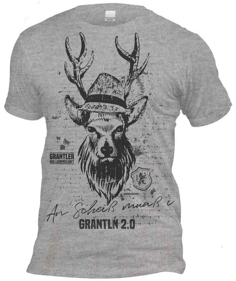 Soreso® Trachtenshirt »An Scheiß muaß i - Grantln 2.0«