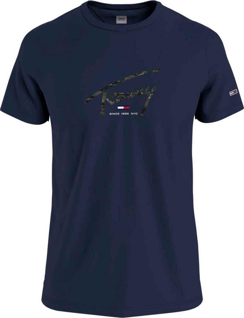 Tommy Jeans T-Shirt »TJM HAND WRITTEN LINEAR LOGO TEE«
