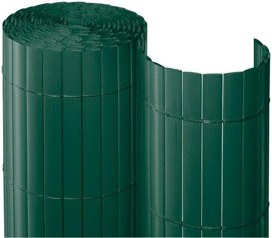Balkonsichtschutz BxH: 300x90 cm, dunkelgrün